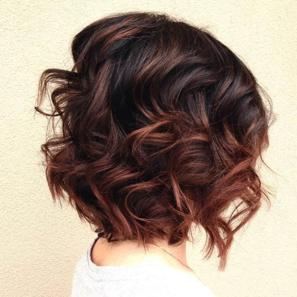 баляж на коротке волосся