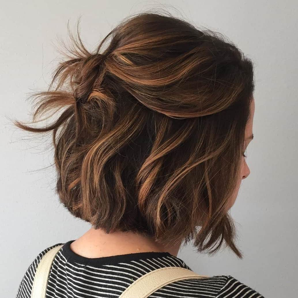 фарбування волосся 2019 на коротке волосся