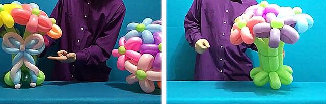 фігури з повітряних кульок схеми