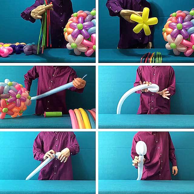 вироби з повітряних кульок своїми руками