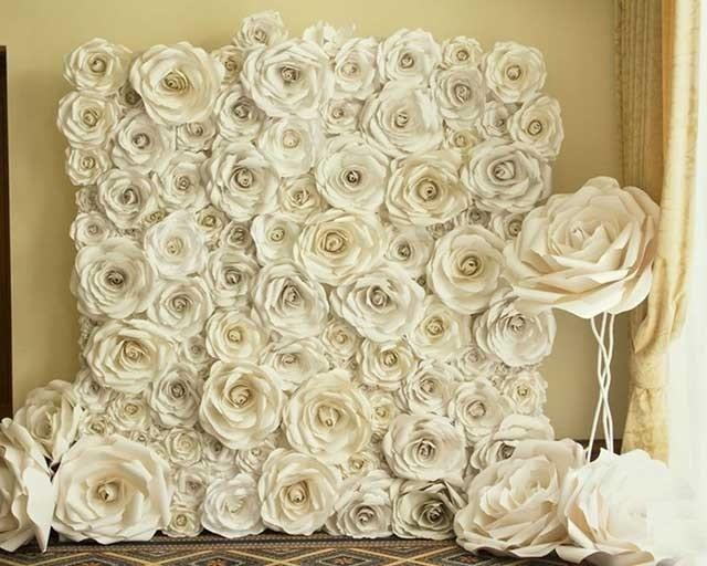 бутони квітів з фоамірану