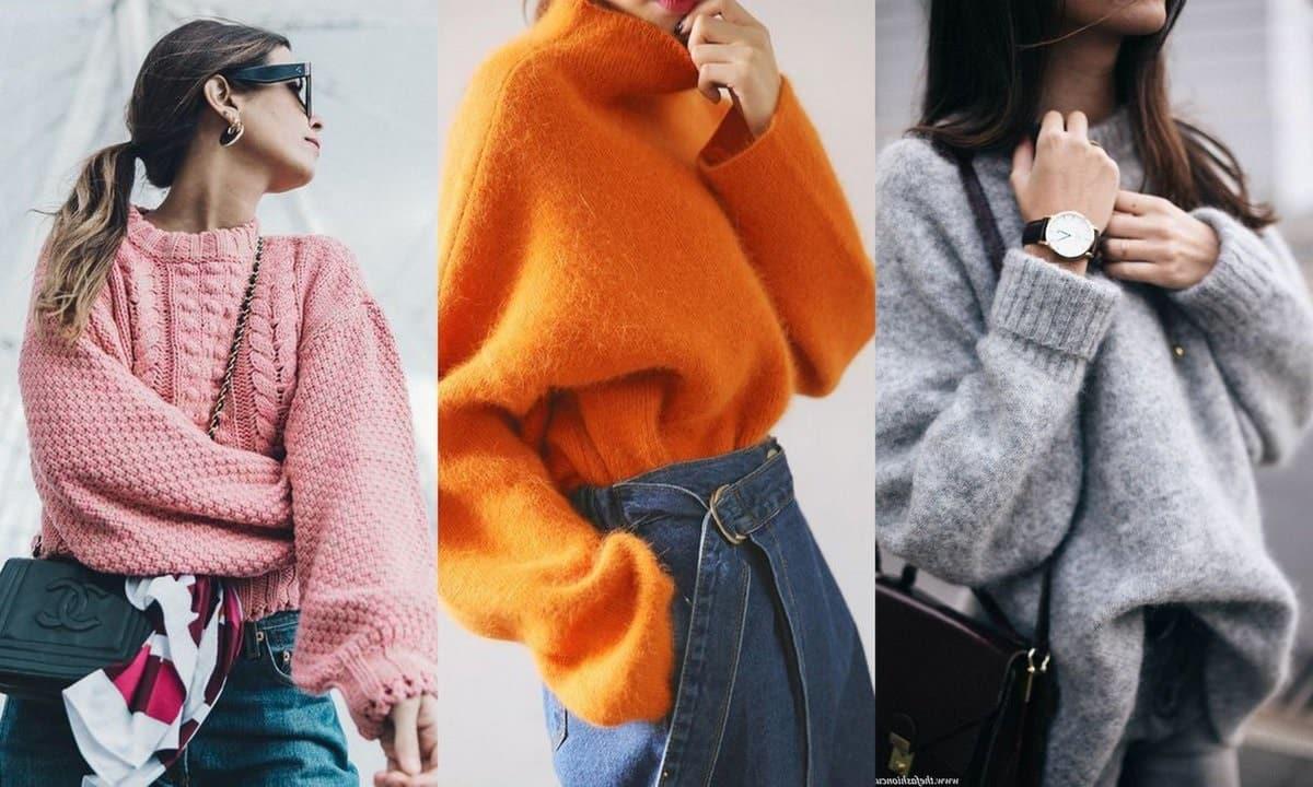 Об''ємні светри жіночі 2019