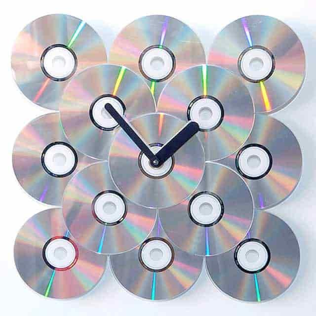 годинники з дисків