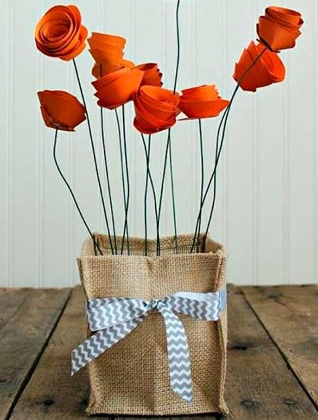квіти з паперу