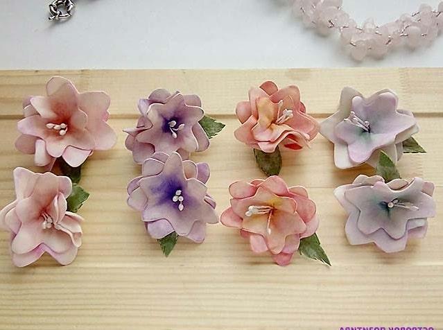 квіти з фоамірана фото