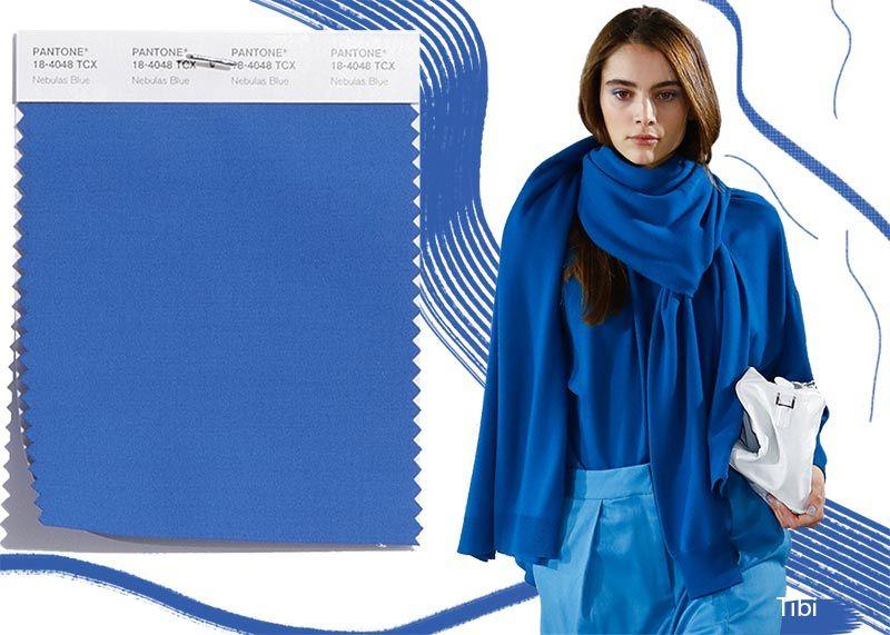 сині кольори в одязі 2019
