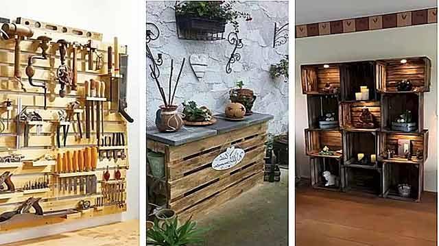вироби з дерев'яних палет