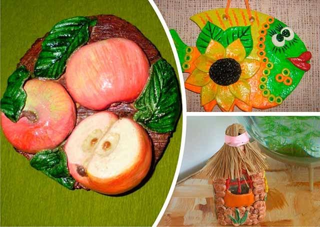 дитячі роботи з солоного тіста