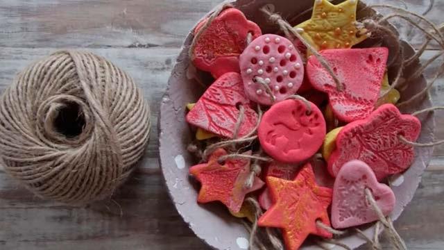 ялинкові іграшки з солоного тіста