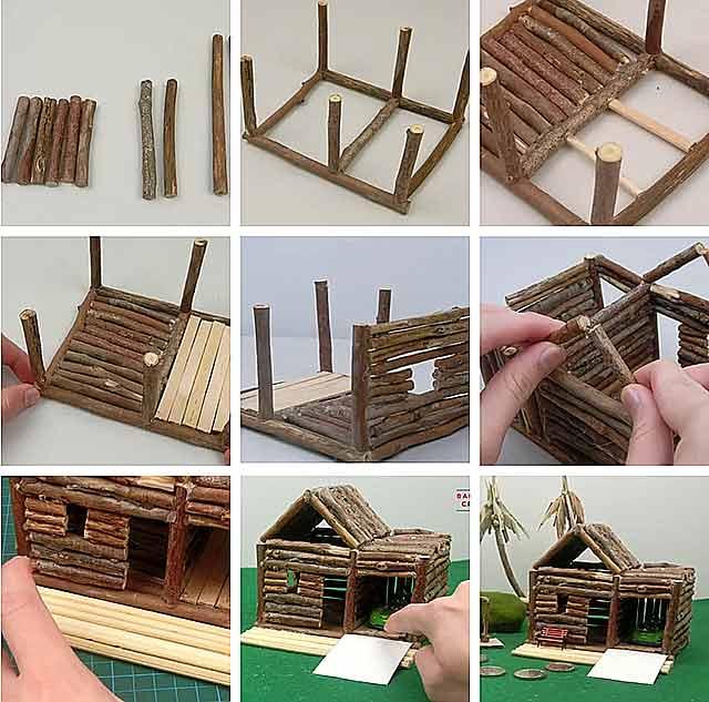 вироби з дерева своїми руками для дітей