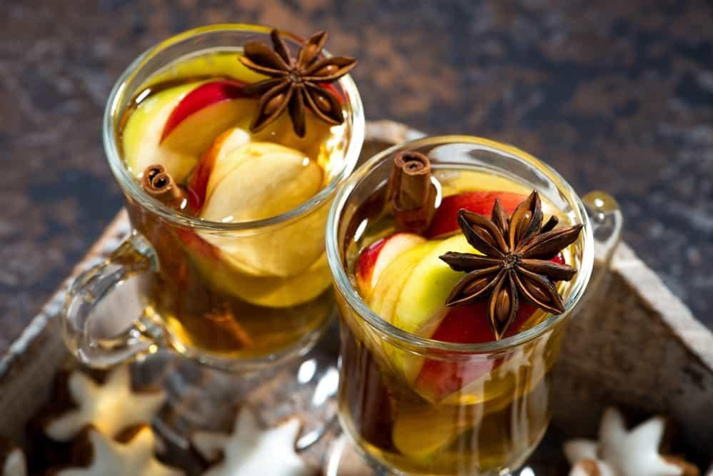 глінтвейн з яблучним соком
