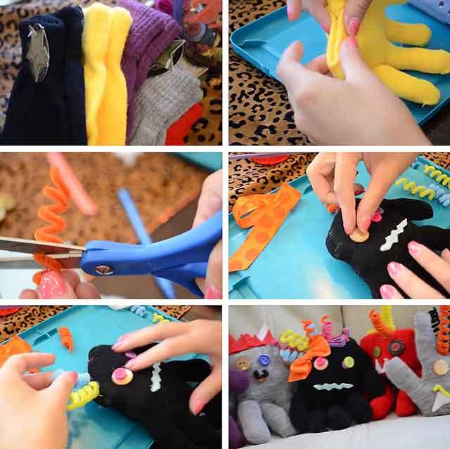 вироби з рукавиць