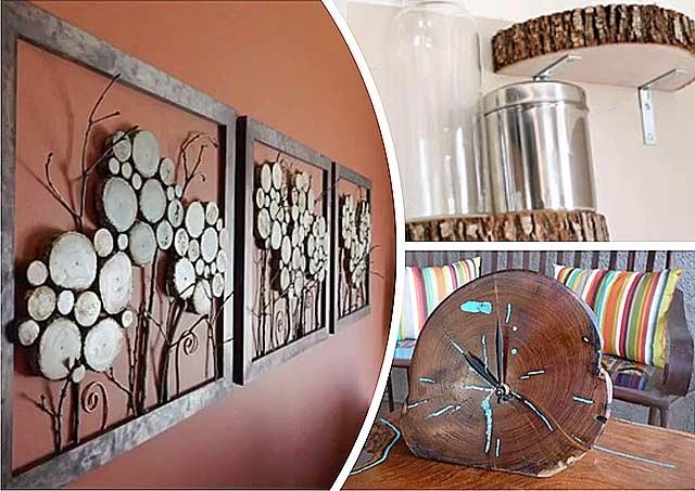 декоративні вироби з дерева своїми руками