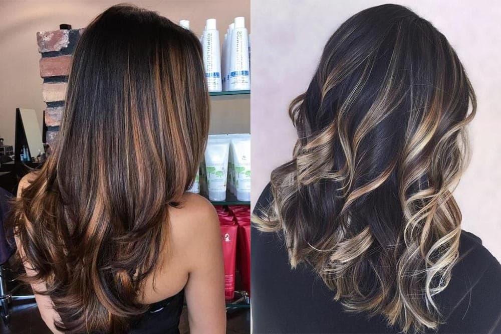 Актуальні кольори на середнє волосся 2019