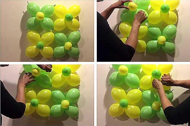 Композиція з шариків