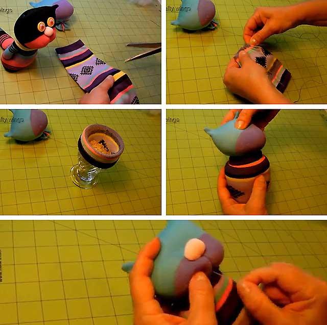 як зробити кота з носків