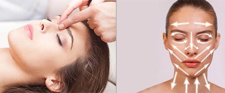 лімфодренажний масаж обличчя в домашніх умовах
