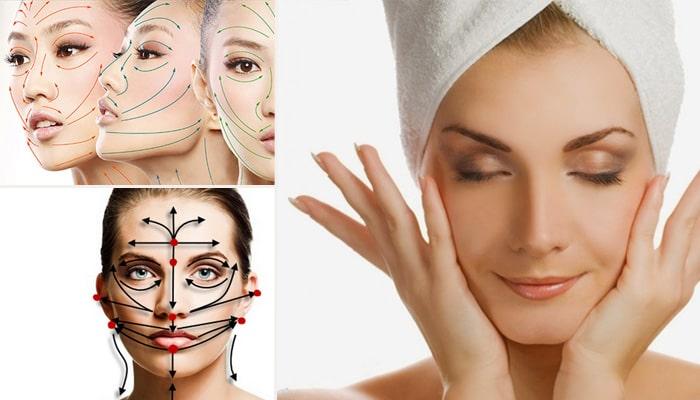 Техніка лімфодренажного масажу обличчя