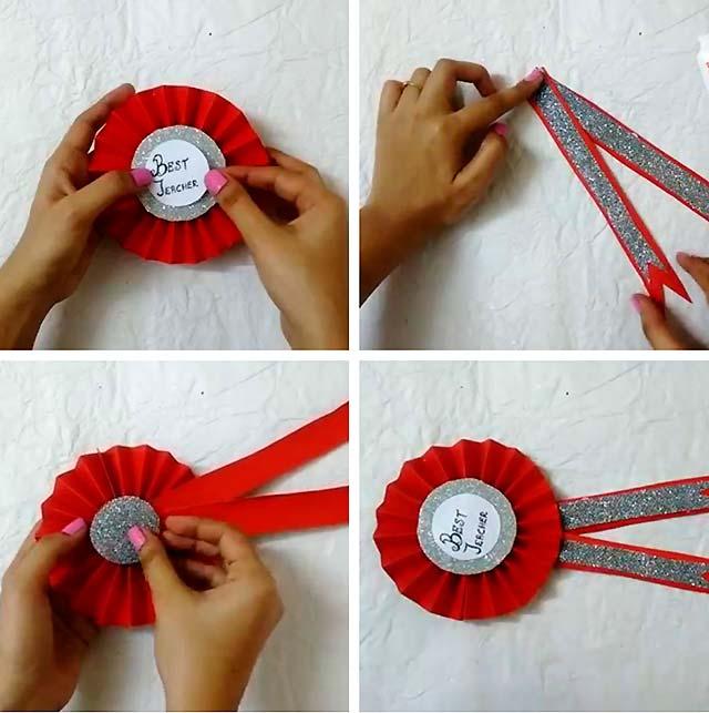 медаль своїми руками покроково