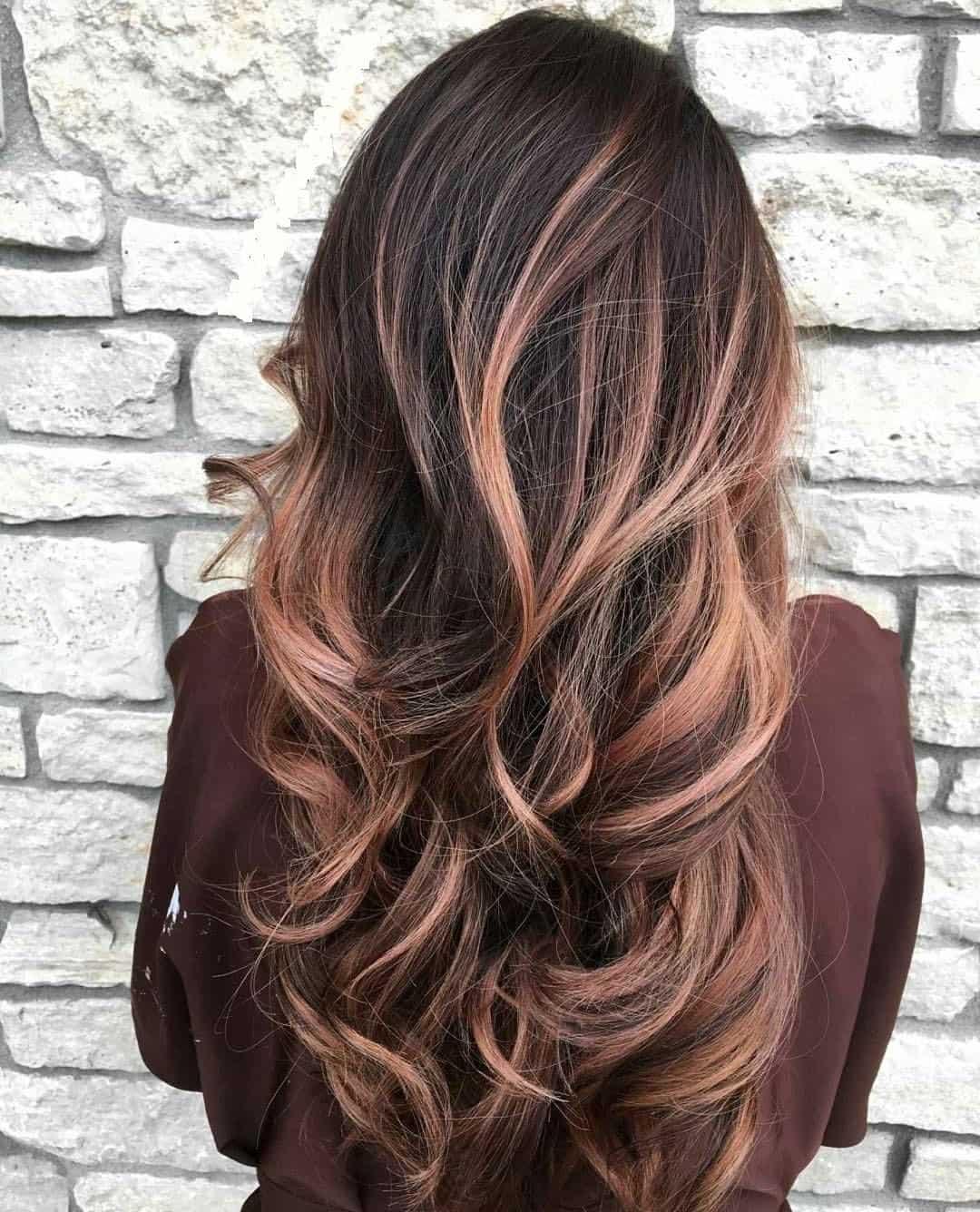 фарбування волосся 2019 для шатенок