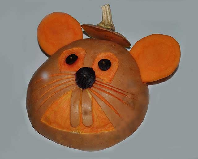 миша з гарбуза
