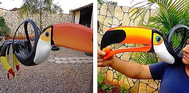 пелікан з коліс автомобільних фото