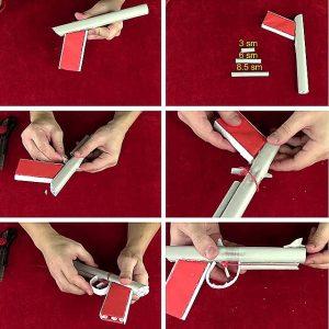 як зробити пістолет з паперу