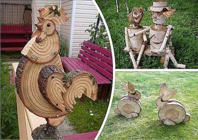 дерев'яні вироби для подвір'я