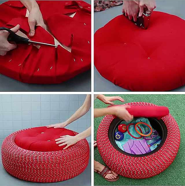 як зробити крісло з коліс