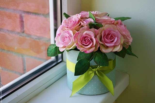 Квіти з фоамірана своїми руками