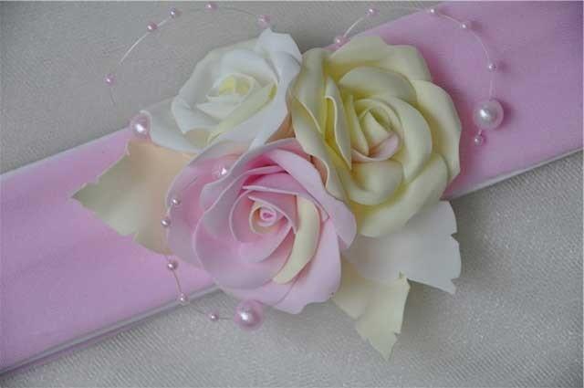троянди з фоамірану