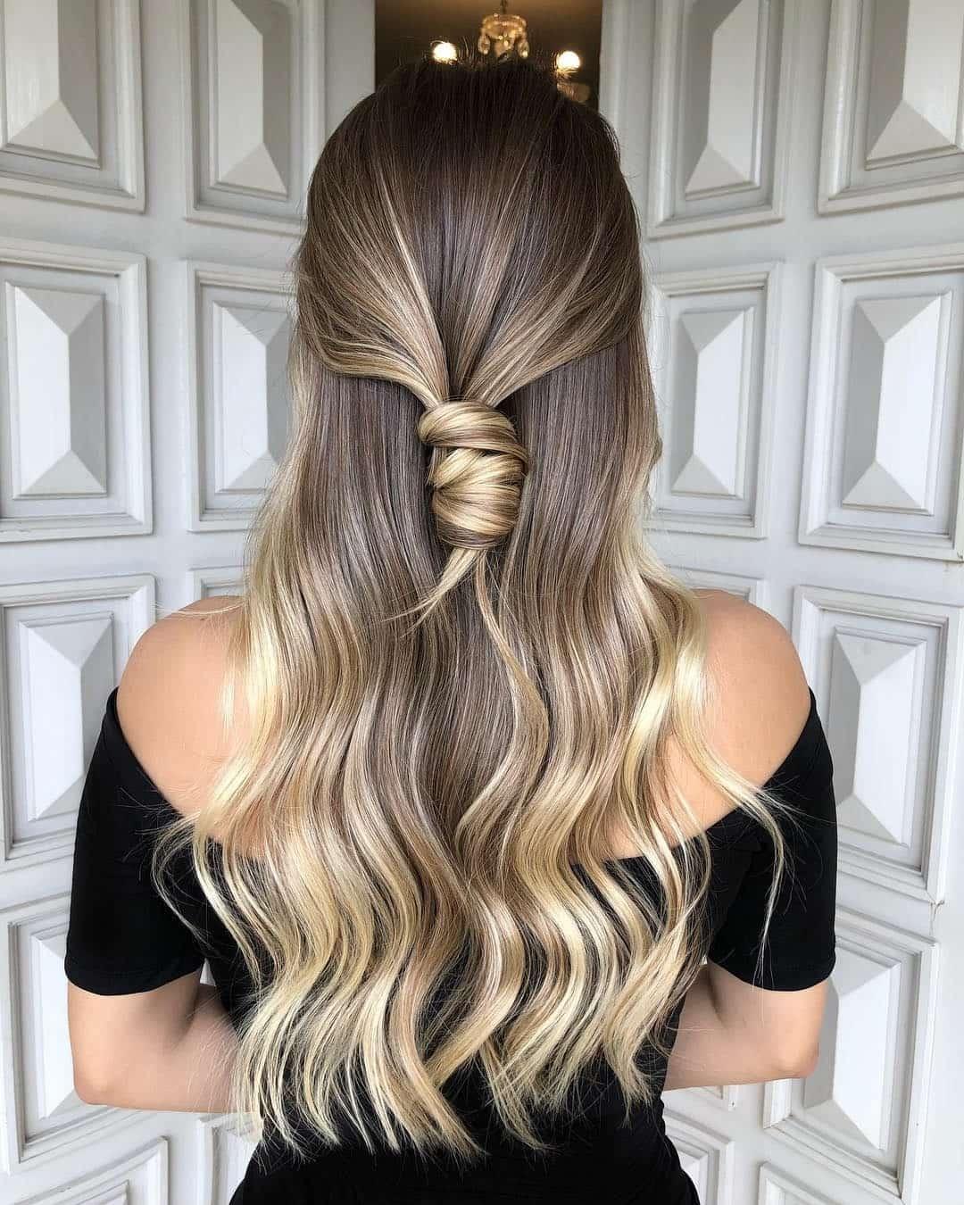 перехід відтінків від кінчиків до коренів волосся 2019