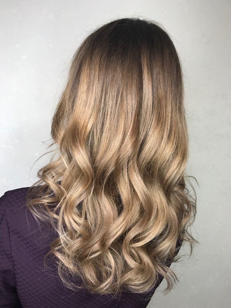 фарбування довгого волосся 2019