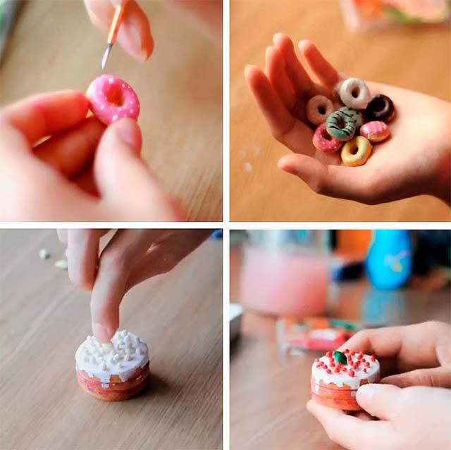 солодощі для ляльок з солоного тіста