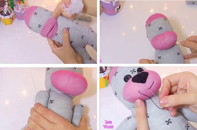 як зробити іграшку собаку