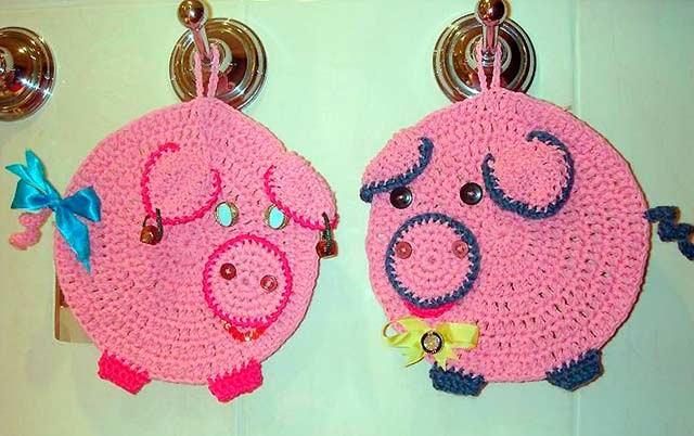 свинки прихватки