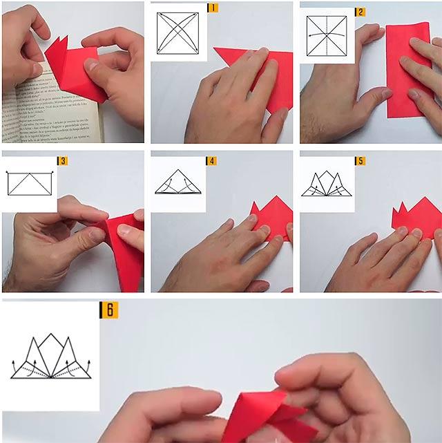 Закладки–орігамі з паперу