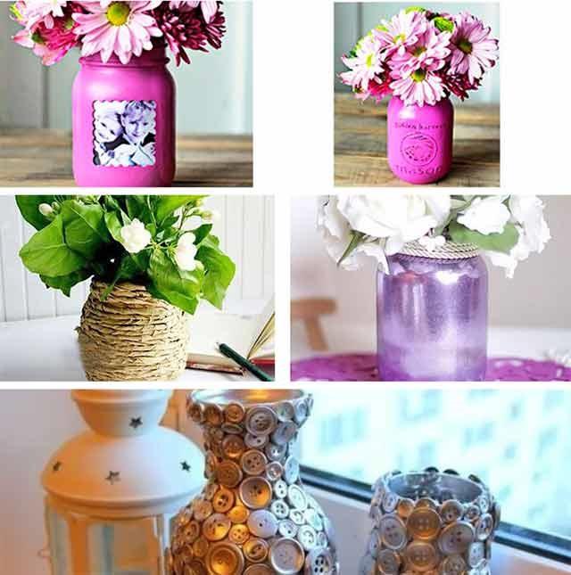 ваза з банки