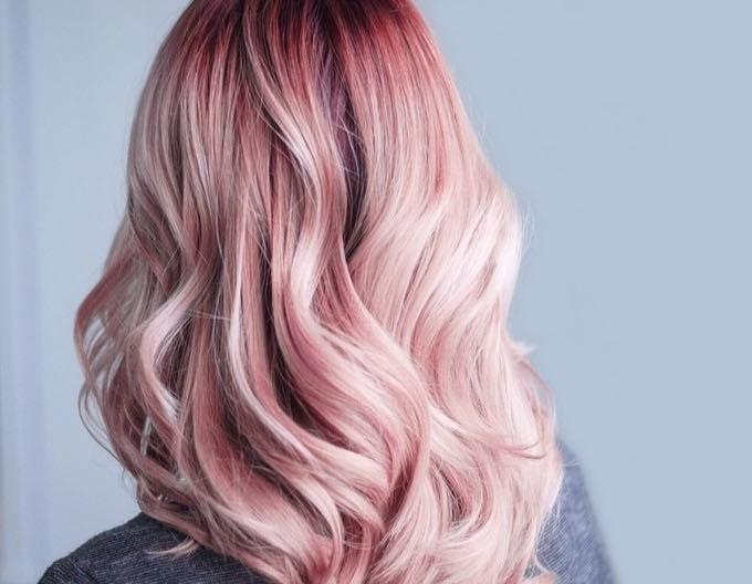 рожеве волосся 2019