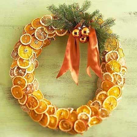 вінок з апельсина