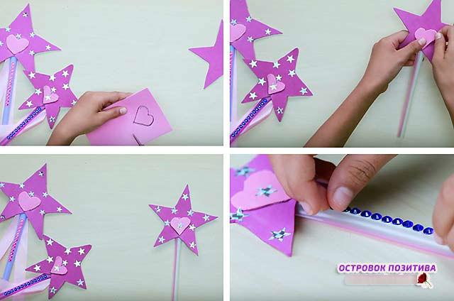 чарівна паличка для дівчинки феї