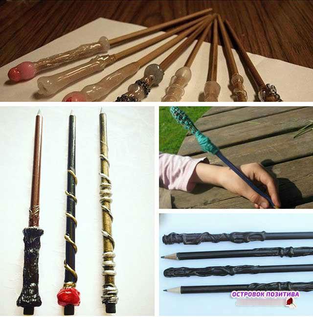 чарівна паличка з олівця