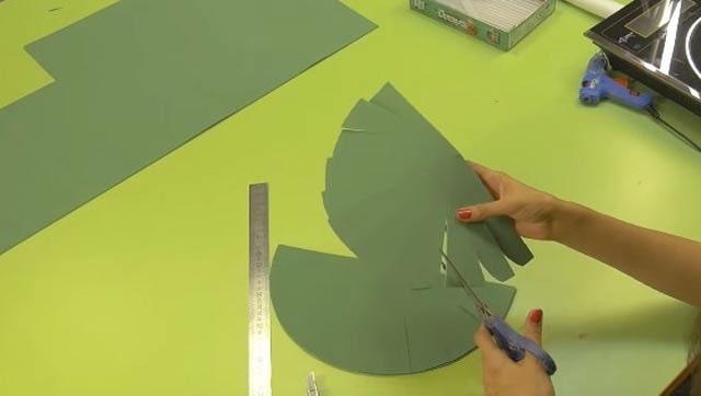 зелений пелюстка