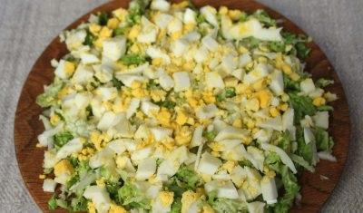 Начинка для пиріжків з капустою і яйцем
