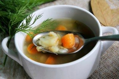 суп з минтая