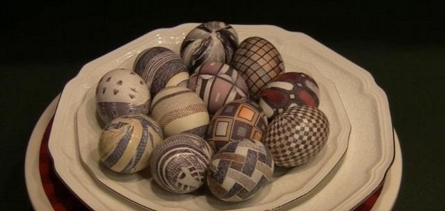 ідеї фарбування яєць