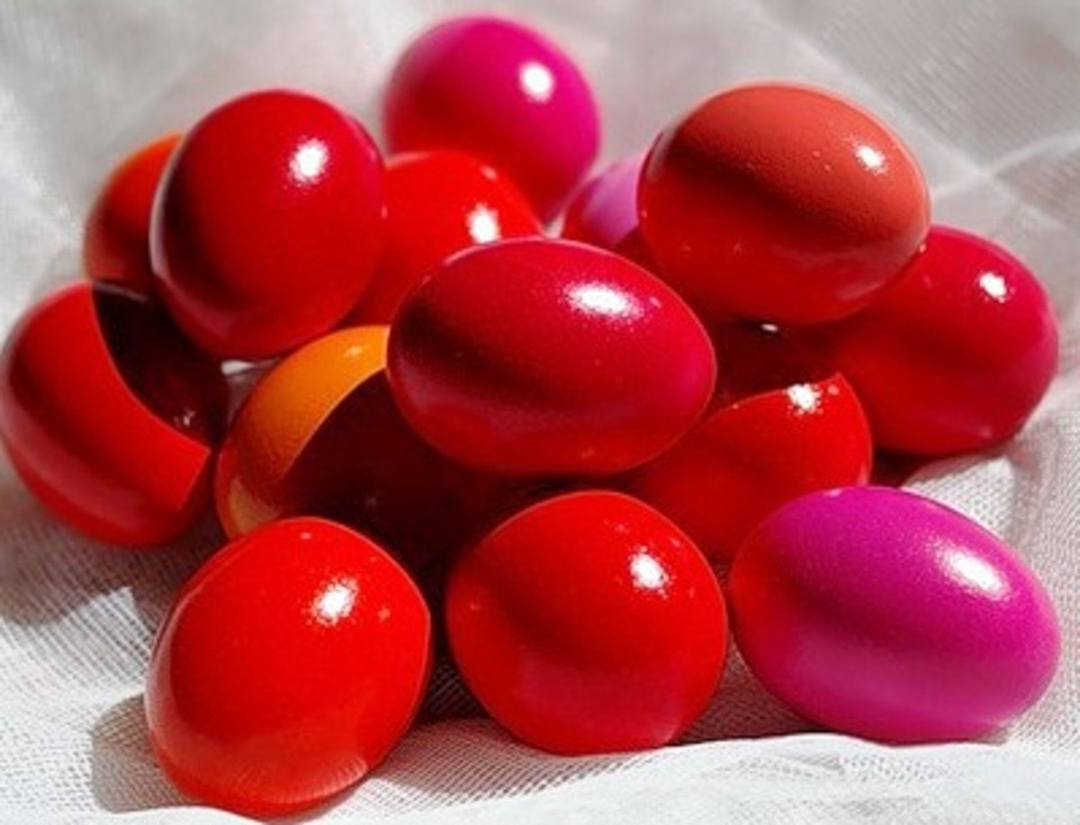 харчовий барвник для яєць