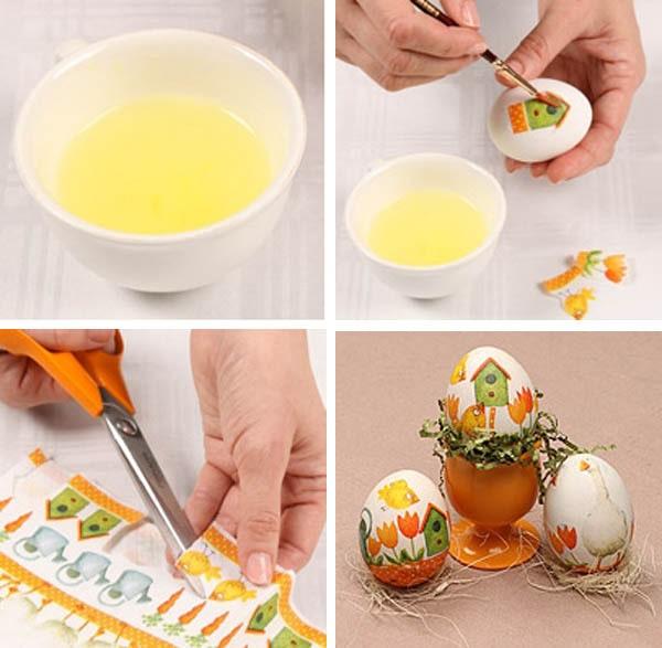 наклейки на пасхальні яйця