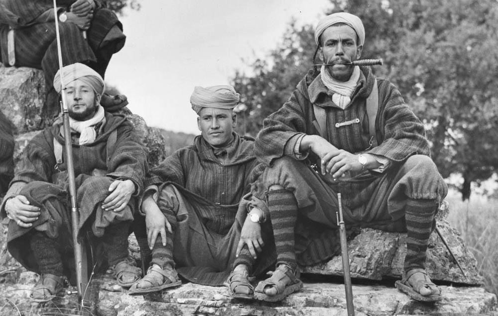 Марокканські солдати проти італійок