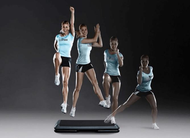 степ аеробіка вправи